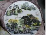 各种陶瓷大瓷盘陶瓷赏盘陶瓷纪念盘定制厂家加印logo