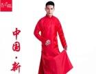 中式新郎结婚礼服,唐装、秀禾服、长袍马褂