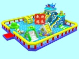 凱欣大型水上滑梯組合樂園百萬海洋球池