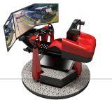 猎金新款虚拟现实动感赛车-360度模拟赛车厂家