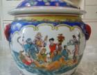 清代民窑粉彩粥罐