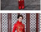 婚纱礼服+红妆+披肩一共280