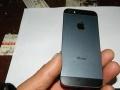 黑色国行九成新苹果5 17500