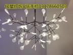 简约后现代树枝别墅工程酒店客厅LED萤火虫吊灯灯具