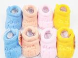 秋冬季踏莎行保暖珊瑚绒婴幼儿软底棉鞋0-3岁宝宝婴儿鞋