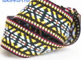 厂家直销批发25MM服装辅料定做涤纶带民族提花织带DIY辅料