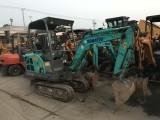 杭州 二手挖机市场 二手小松日立20 35挖机出售