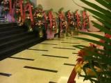 紫金阁花卉绿植 恒大新城花店 开业花篮定花车订花束
