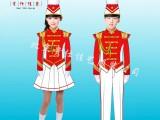 演出服学生鼓乐队表演服行进管乐队服装定制北京贵仕佳艺服装