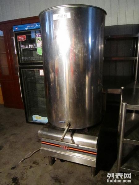全套厨房设备 排烟罩 单眼灶 工作台 水池 货架 蒸箱转让