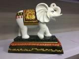 惠安石雕 石雕大象造型 单牙象 六牙象