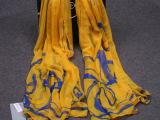 外贸双C小香图案高档丝围巾秋冬保暖女士披肩围巾可一件代发
