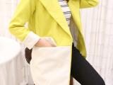 JU11655#网店日韩女装免费代理加盟一件代发茧型毛呢外套大衣