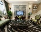 重庆别墅设计 龙湖听蓝湾 美式风格装修设计 设计师左参一