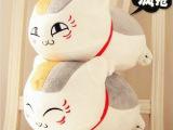 米修 厂家供应创意日本欧美外贸原单夏目友人帐毛绒玩具公仔定制