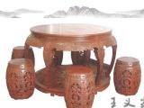唐山古典餐厅全套 实木家具 红木餐桌椅组