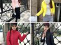 内蒙古开服装店怎么进货网上最低价时尚秋冬韩版女装棉服外套批发