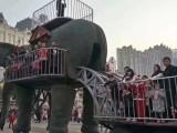 机械大象租赁机械大象巡游方案 机械大象出租厂家 河淼模型