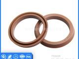 厂家批发 各种轴用孔用活塞用棕色U型氟橡胶制品