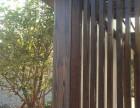杭州木纹漆施工 杭州千岛湖太极广场方钢木纹案例