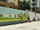 海南墙体广告 政府墙绘全岛制作发布