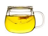 小蜜蜂 M335 茶杯玻璃 带过滤内胆玻璃 加厚泡茶杯