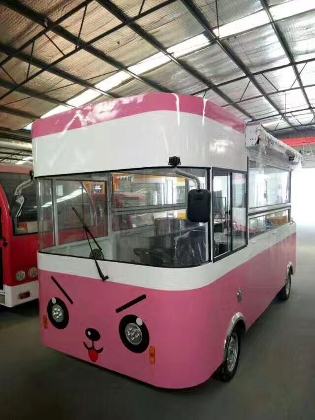 小吃车生产厂家多功能电动小吃车餐车移动快餐车流动美食车