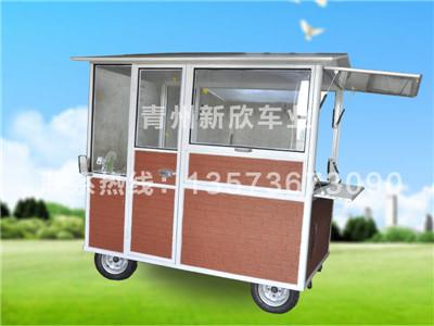山东流动美食车_山东电动餐车供应出售