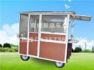新欣车业提供具有口碑的电动餐车——流动美食车哪里卖面议