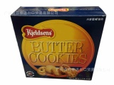 欧美进口休闲食品 饼干批发 丹麦原装进口蓝罐曲奇饼干681g