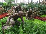 农耕文物雕塑费用怎么样 寿光农耕人物雕塑