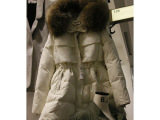 韩国代购韩版女棉衣冬装中长款大毛领加厚冬季外套羽绒棉服棉