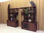 老船木办公展示柜文件柜商品展示柜玻璃柜隔断酒柜书架货架