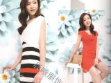 供应香港品牌女装西十二街夏装 正品尾单库存尾货折扣批发