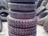 二手重卡车火补轮胎,二手胎,石场胎,双胞