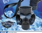 HDPE双壁波纹管成品井复合井盖厂价直销