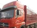 东风天龙厢式货车,2012年10月跑车。
