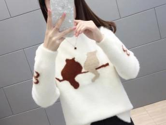 较便宜新款女装毛衣尾货批发较好卖韩版秋冬装衣服批发