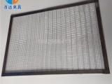 玩具喷漆网盘塑胶产品表面喷漆镀锌网盘 通用正方形涂装网板
