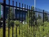 建筑围栏 小区栅栏 锌钢方管护栏 别墅防护围栏 焊接护栏