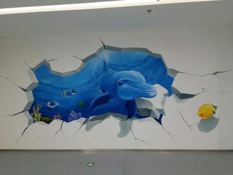 泰安美丽乡村 聊城文化墙 莱芜3D墙绘 济南墙绘公司 浮雕