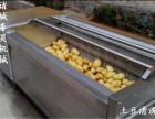 新疆马铃薯毛辊清洗机设备生产厂家哪家好?诸城泰昊质量好规格