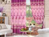 婚房卧室遮光成品窗帘 双面印花窗帘 成品定制窗帘布 批发剪样