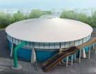 污水池加盖除臭膜结构工程除臭密封池顶盖沼气池气柜工程施工安装