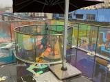 專業建筑玻璃貼膜辦公室磨砂膜幕墻防曬隔熱膜