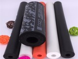 环保无毒型NBR橡胶发泡管 剖开发泡棉 摩托车护套泡棉