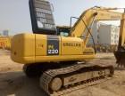 二手挖掘机市场:小松200 220 斗山220 225挖掘机