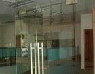 无框玻璃门定做/12MM 钢化玻璃地弹门/玻璃隔断