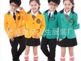新款儿童表演服合唱服学生诗歌朗诵服演出服秋冬季长袖西服款班服