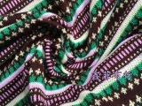 厂家直销 毛线提花面料  针织布  色织布  现货批发